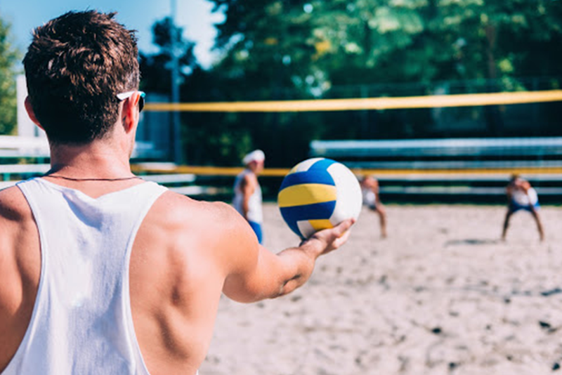 Volleyball | Open Volleyball Courts | Casual Volleyball | Private Volleyball Courts | JB's on 41 | Milwaukee, WI