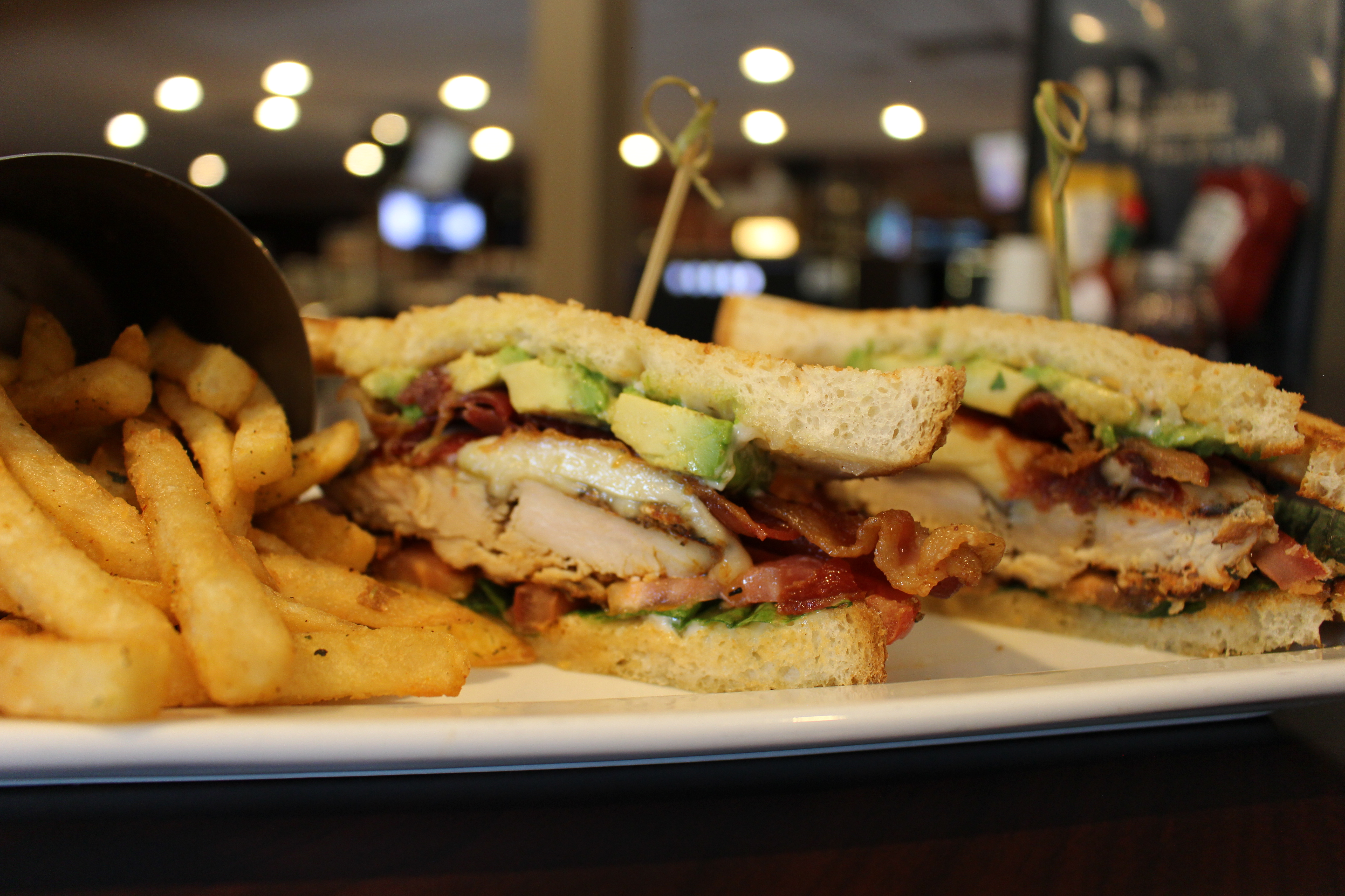 chicken avocado blt | upscale pub fare | scratch kitchen | junction bar & grill | JB's on 41 | Milwaukee, WI