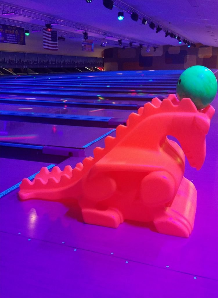 Glow Bowling Dragon Ramp | JB's on 41 | Milwaukee WI