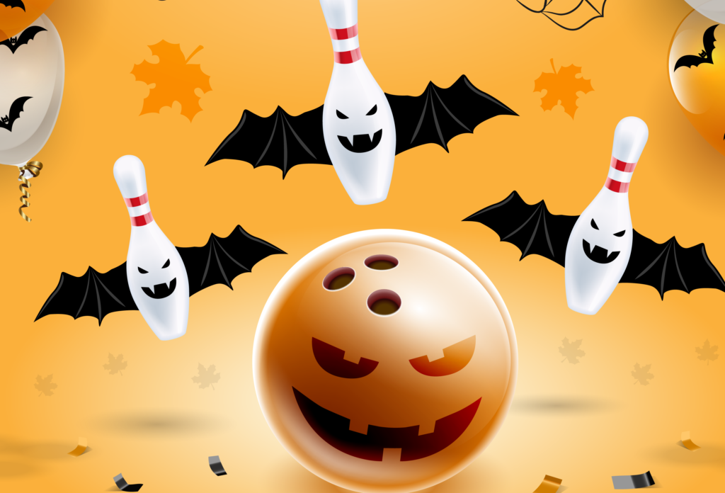 Halloween Bowling Ball and Pins | Holiday Events | Super Bowl Entertainment Center | Appleton WI