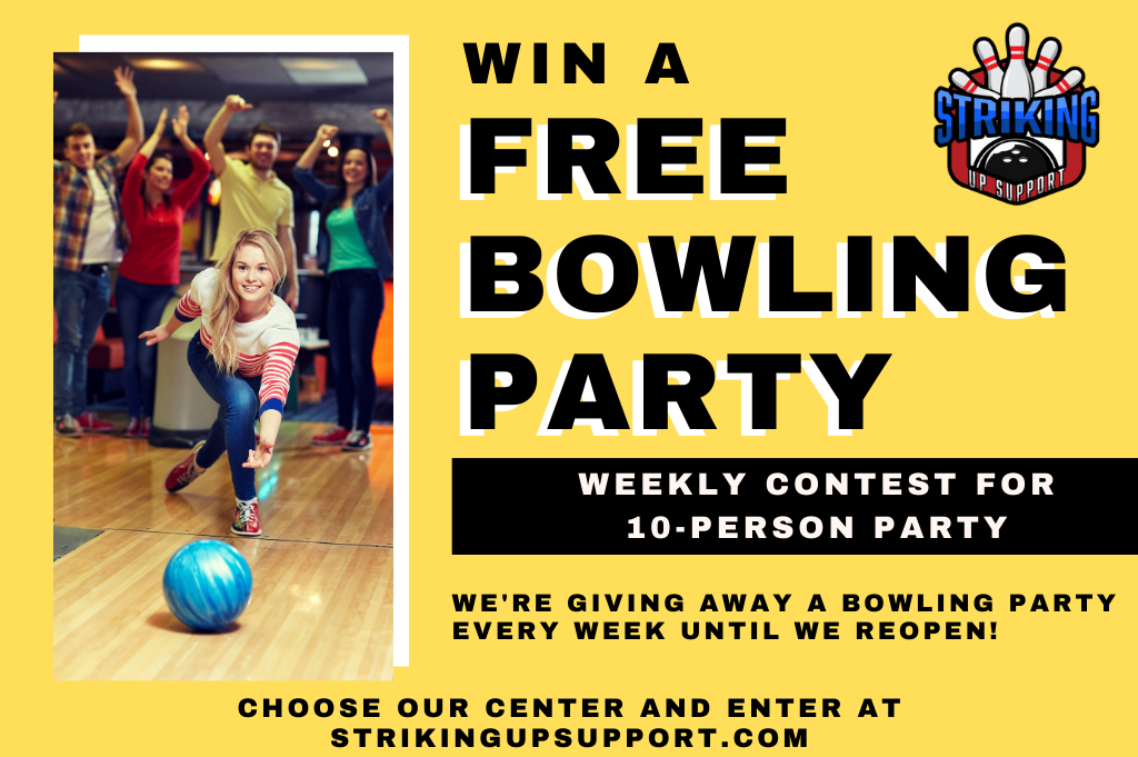 win a free bowling party | striking up support | making family fun over the holidays during covid-19 | jb's on 41 | bowling party contest | milwaukee, wi