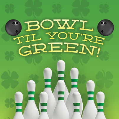 st. patrick's day bowling | family activities on st. patrick's day | JB's on 41 | Milwaukee, WI