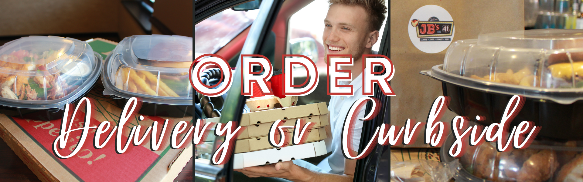 curbside and delivery from JB's on 41 | not your average bowling alley food